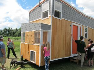 If we're going for productive land use, this one even has a chicken coop!