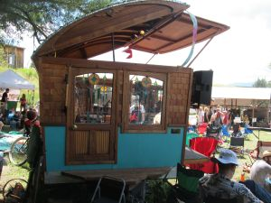 I kind of fell in love with the Gypsy Wagon Stages they brought in.